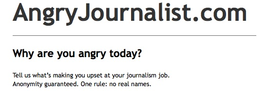 The Angry Journalist