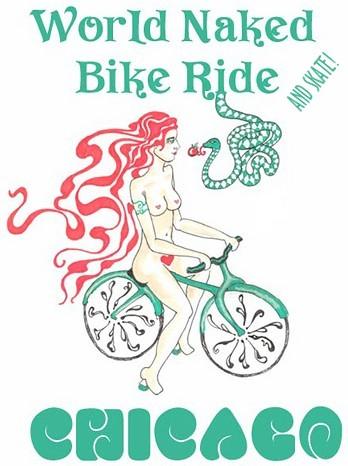 Chicago Naked Bike Ride