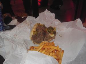 Italian beef & fries
