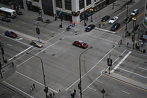 Chicago intersection