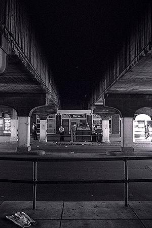 Morse Red Line CTA stop 1979