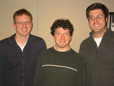 Andy Hermann, Dan Weissmann, Mike Stephen